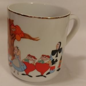 Alice in Wonderland Coffee Cup